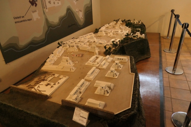 Model of Iximche, Guatemala.