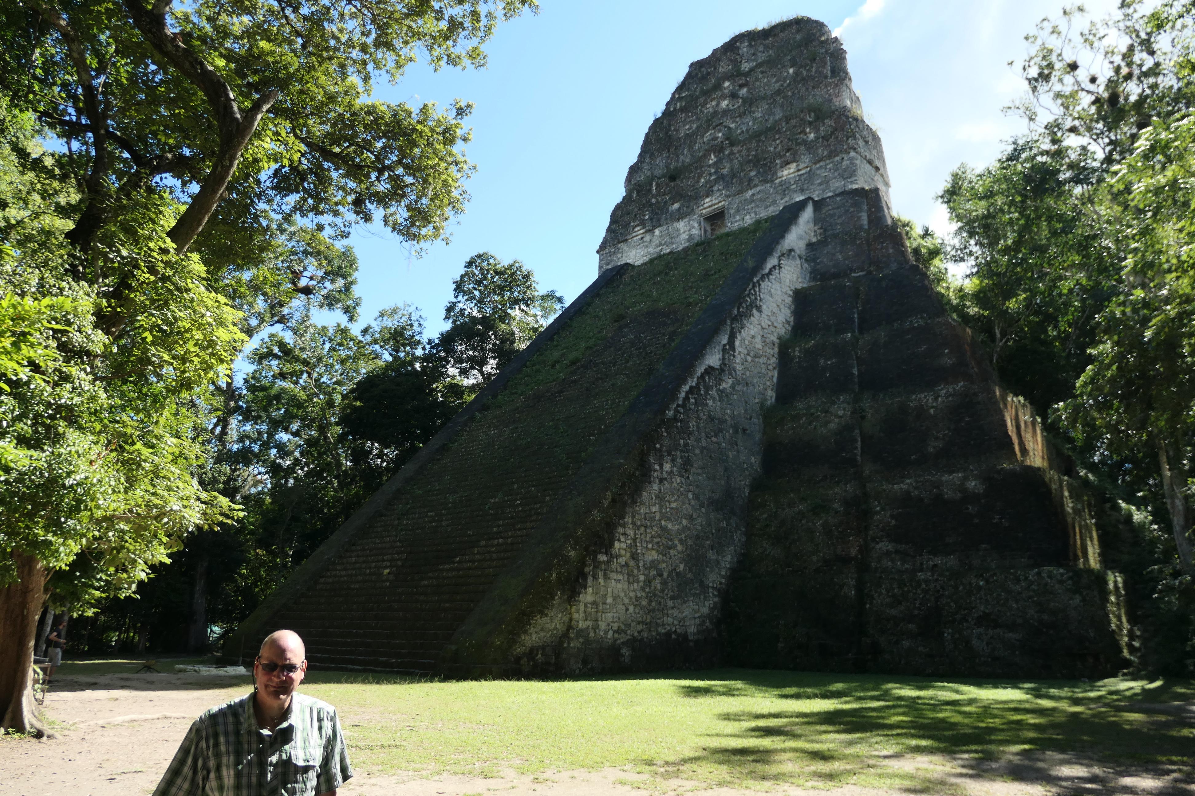Temple 5, Tikal, Guatemala