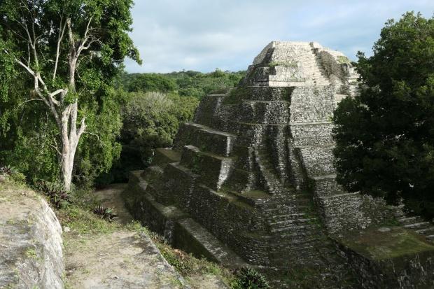 Acropolis North, Yaxha, Guatemala