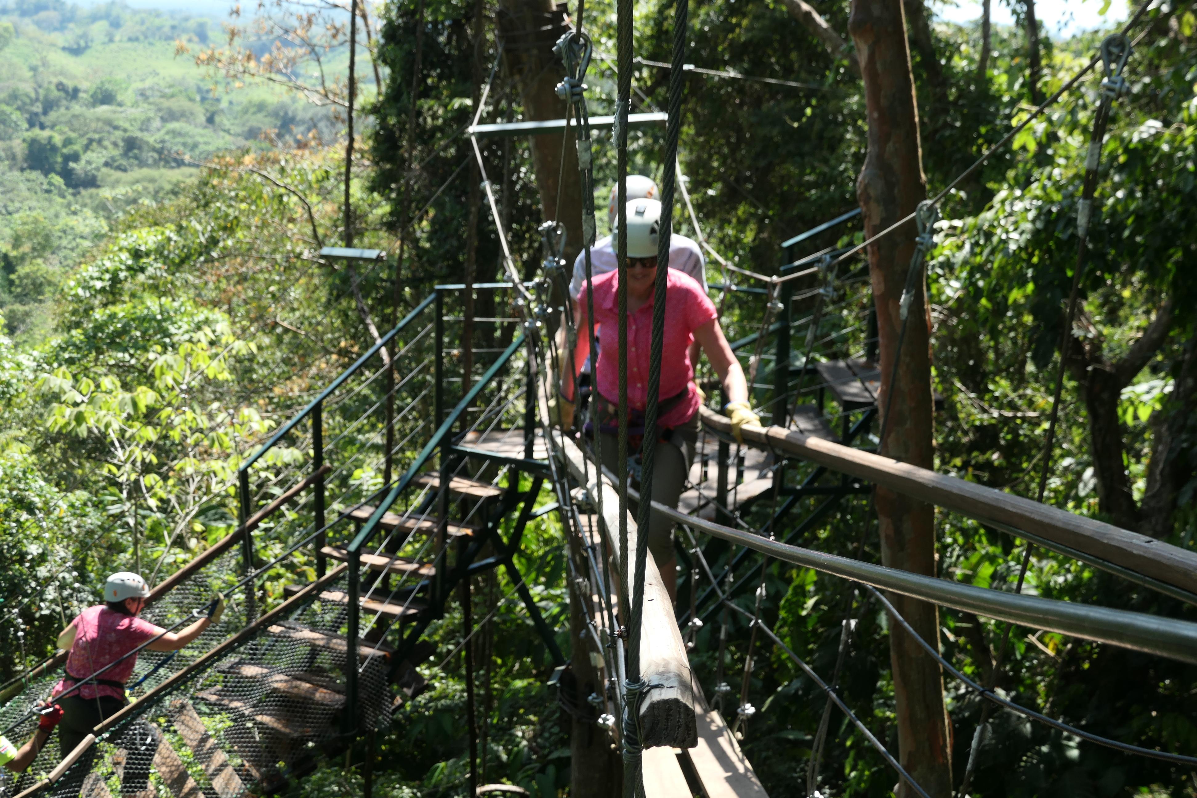 Zipline, Quepos, Costa Rica