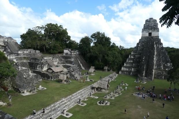 Gran Plaza, Acropolis Norte, Temple 1, Tikal, Guatemala
