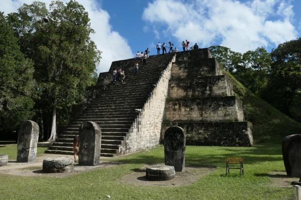 """North Zone, Complex """"Q"""", Tikal, Guatemala"""