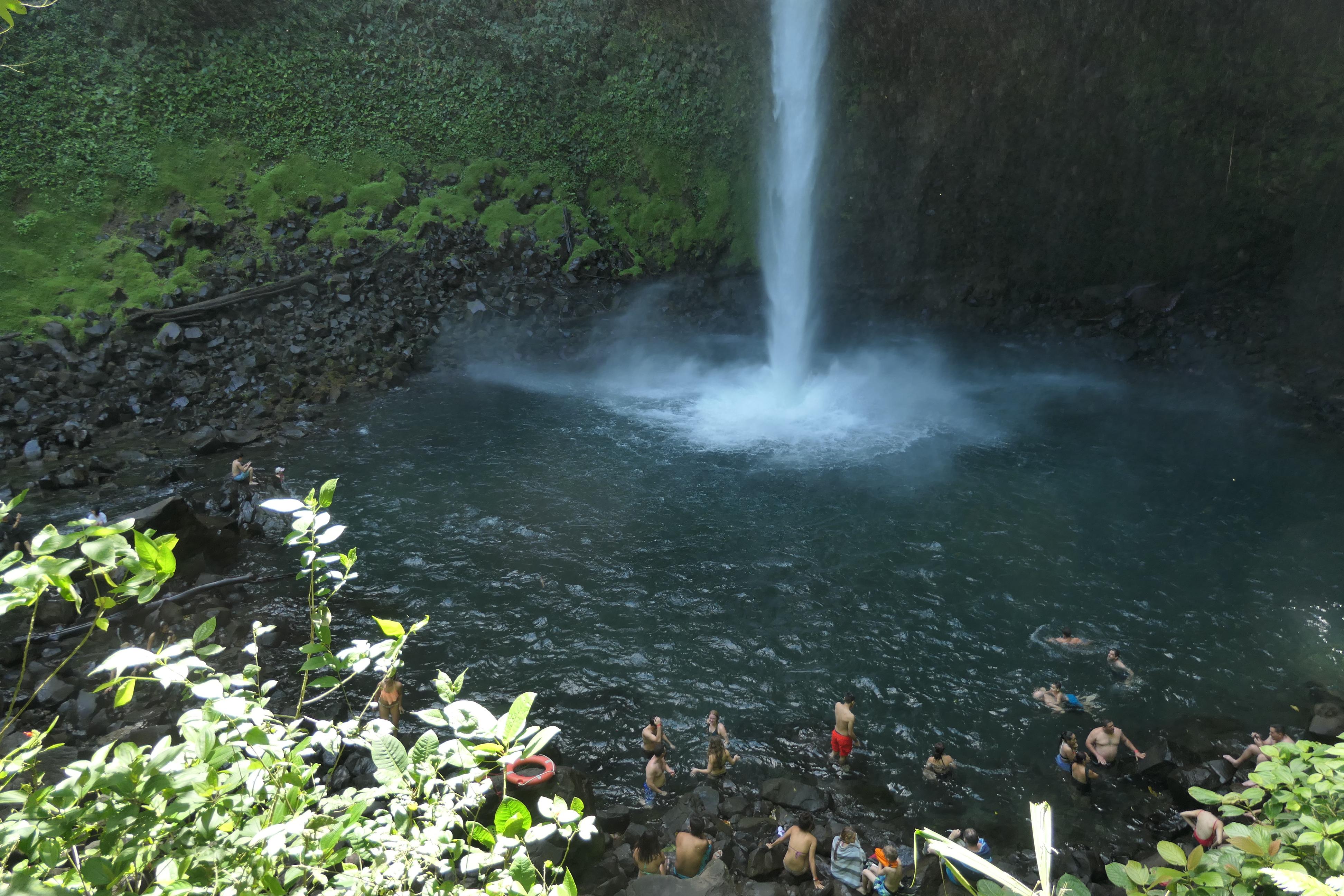Costa Rica Arenal Volcano Area La Fortuna Falls9